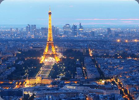 Transferts dans Paris